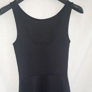H&M divided black women's mini dress